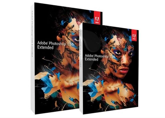 Chine Logiciel de conception graphique de Mac Adobe, version prolongée d'Adobe Photoshop CS6 pleine fournisseur