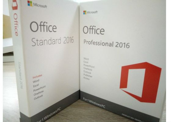 Chine OEM 2016, Microsoft Office en ligne de Windows Server d'activation pro plus la boîte de la vente au détail 2016 fournisseur