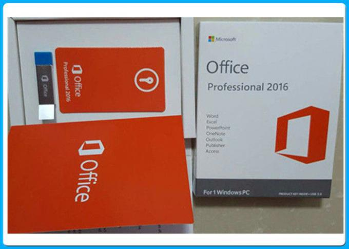 3,0 USB Microsoft Office 2016 pro plus le permis principal pour 1 PC de Windows